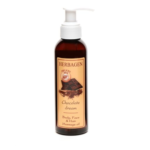 Herbagen Chocolate Face, Body, Hair Massage Oil