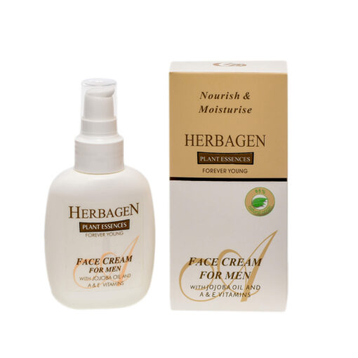 Herbagen Face cream for men with jojoba oil and A&E vitamins