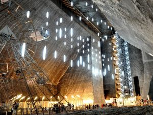 The Rudolf Mine, Turda Salt Mine