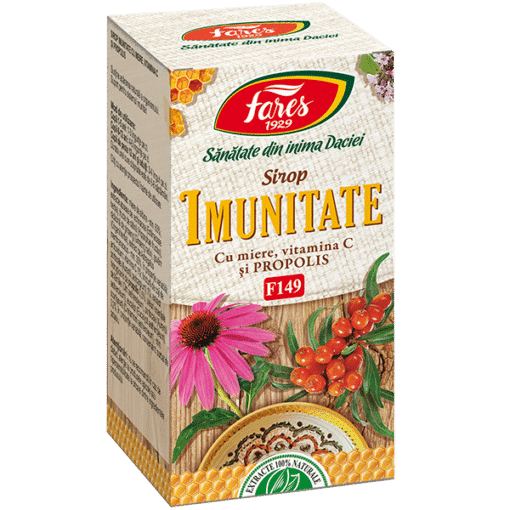 Fares Immunity with honey and propolis syrup, 100 ml.